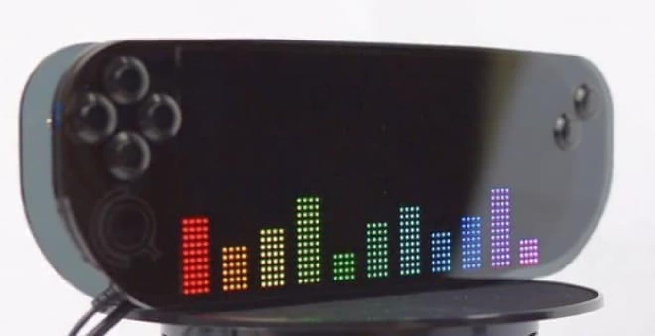 「2048」のサウンドシステムはプリミティブなもの