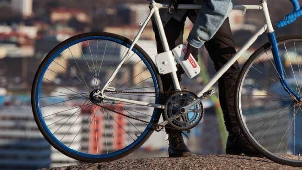 愛車を電動アシスト自転車に変えるSemconの「スマートエンジン」