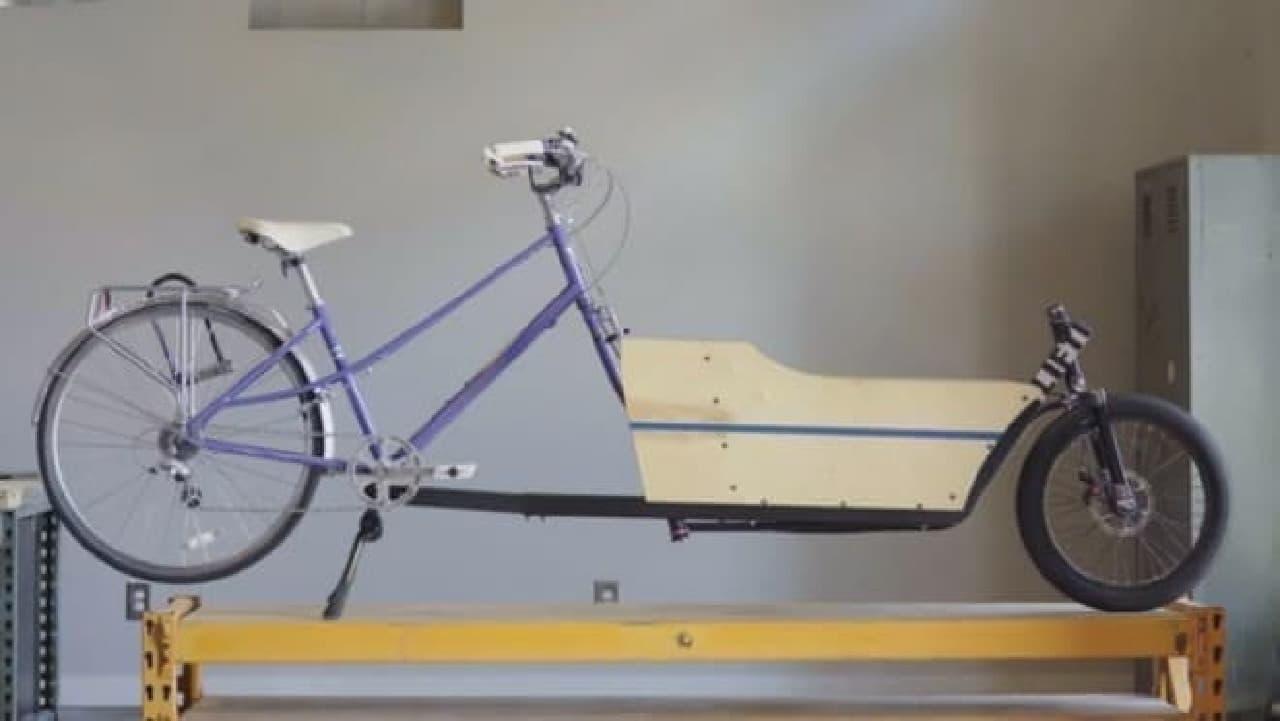 「LIFT」メリット、あらゆる自転車がカーゴバイクに