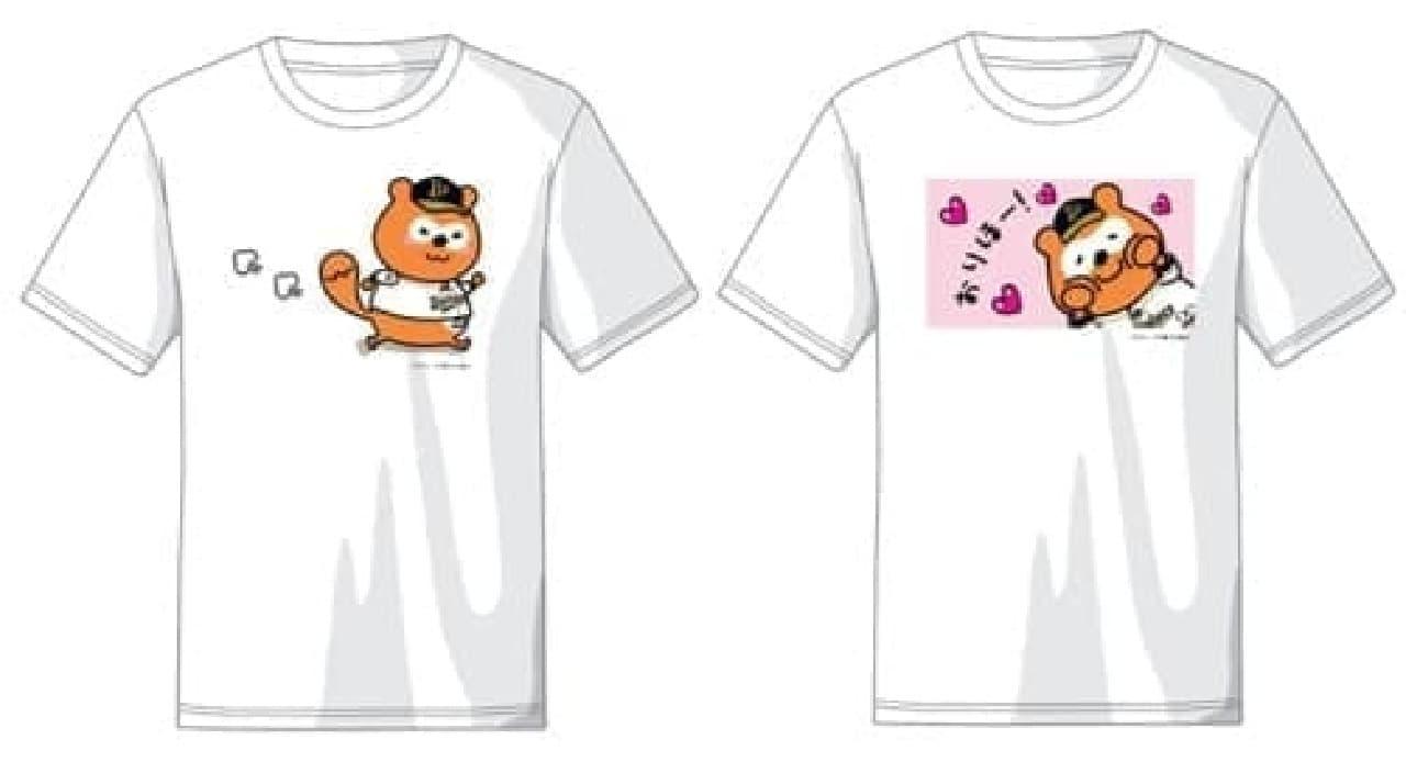 バファローズポンタのTシャツ