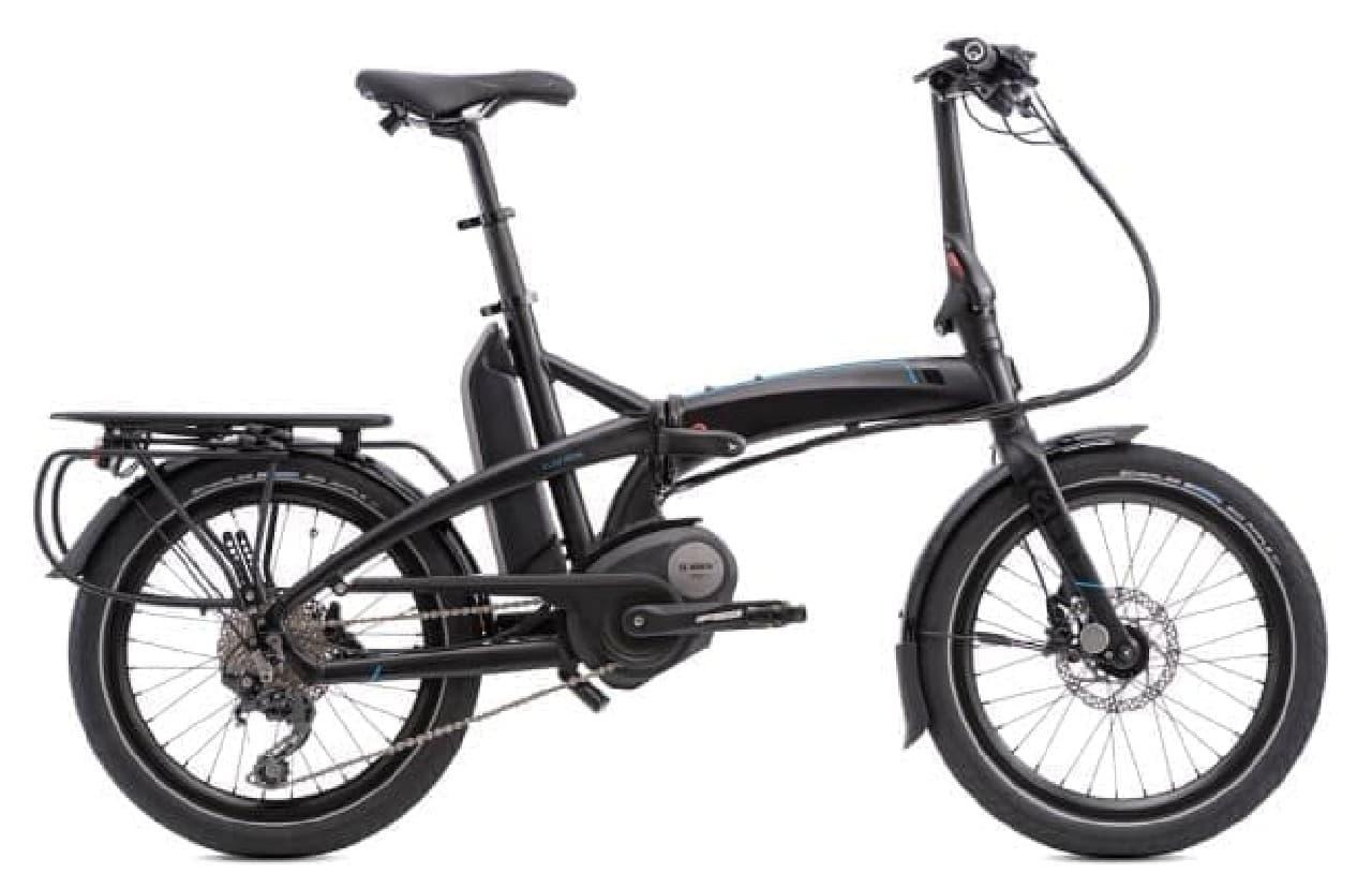 Ternが電動アシスト機能付きの折り畳み自転車「Elektron」を発表