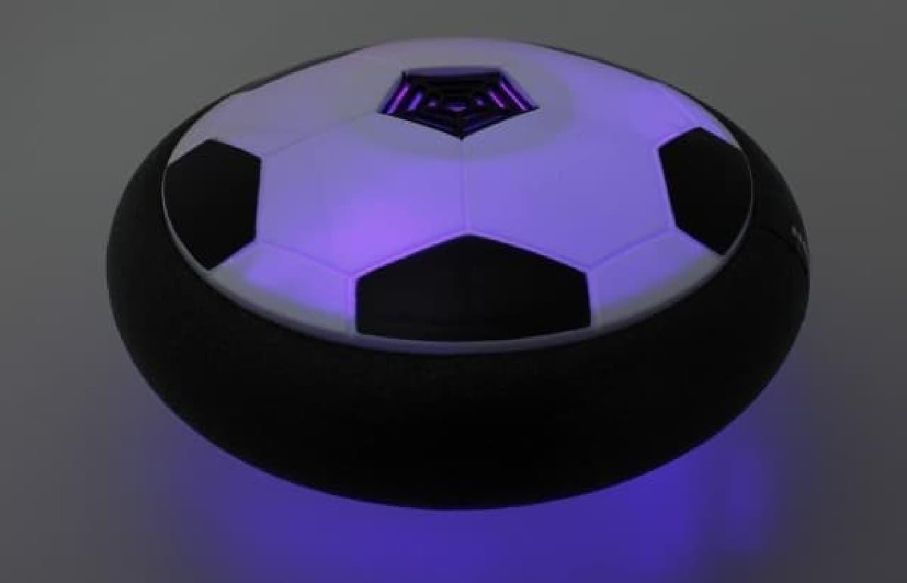LEDで暗がりでも光る