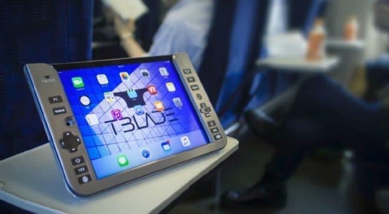 iPad用の背面キーボード「T-BLADE」