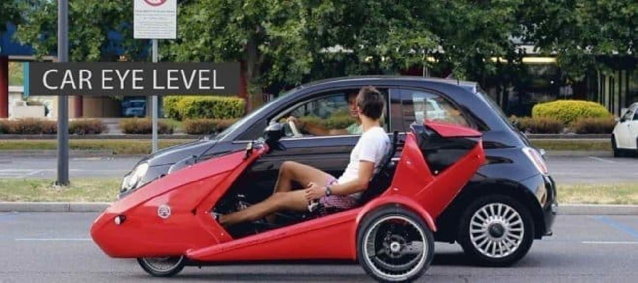 コンバーチブルな自転車「Cabriovelo(カブリオベロ)」