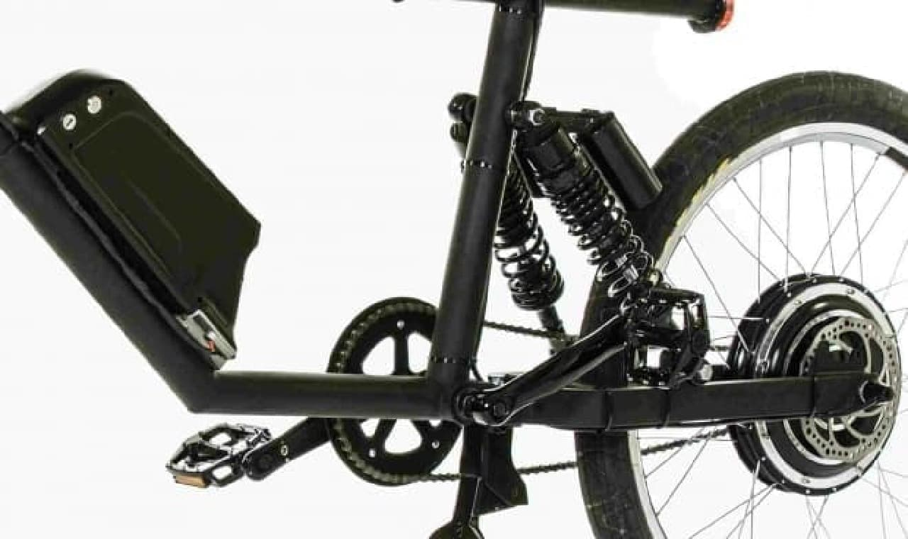 カフェレーサーをイメージした電動アシスト自転車「CR-T1」