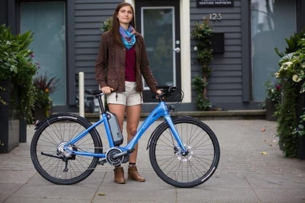 女性向け電動アシスト自転車Karmic Bikes「Kyoto」