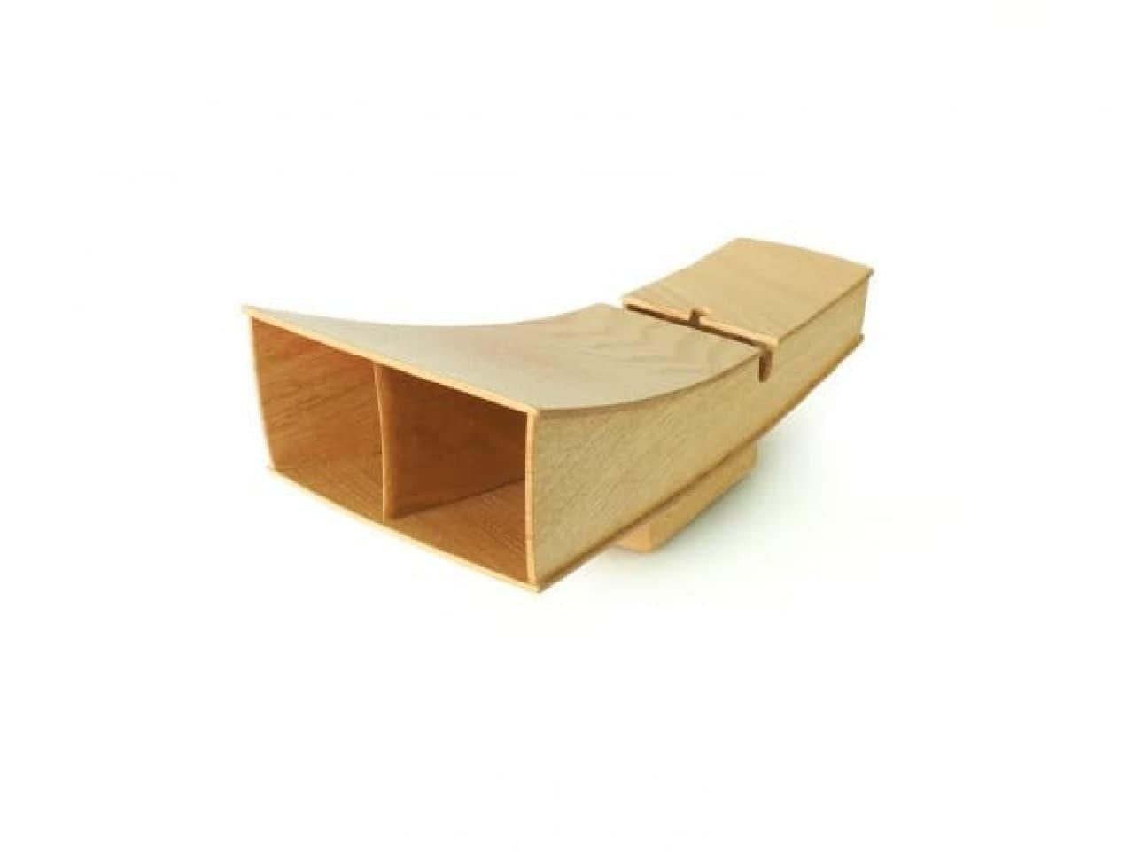 木製スピーカーボックス
