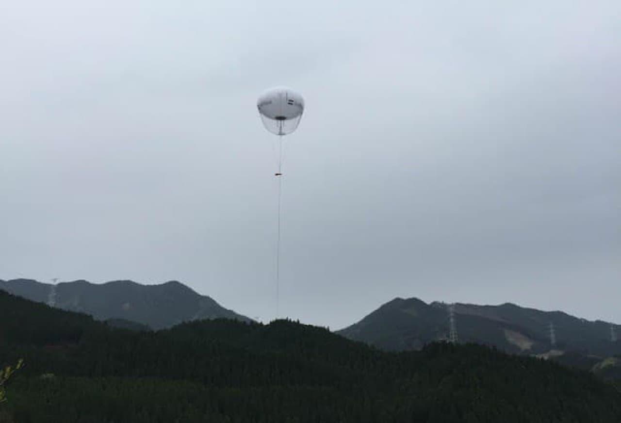 ソフトバンクの気球