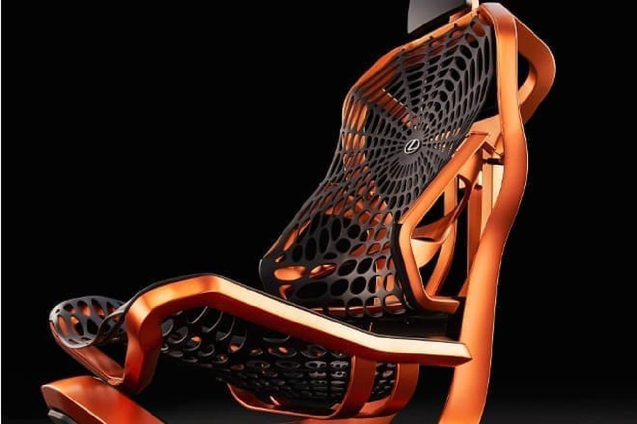 人工クモの糸を使ったシート