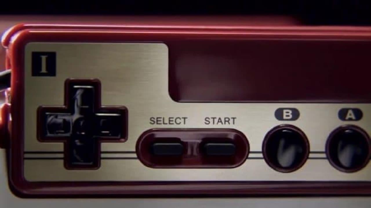 ファミコンのコントローラー
