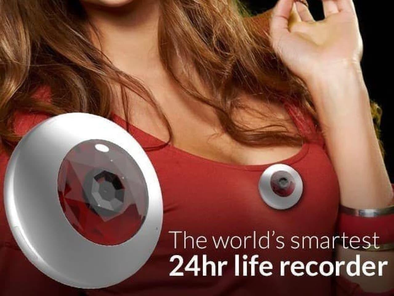目玉オヤジみたいなビデオレコーダー「TimeCap」