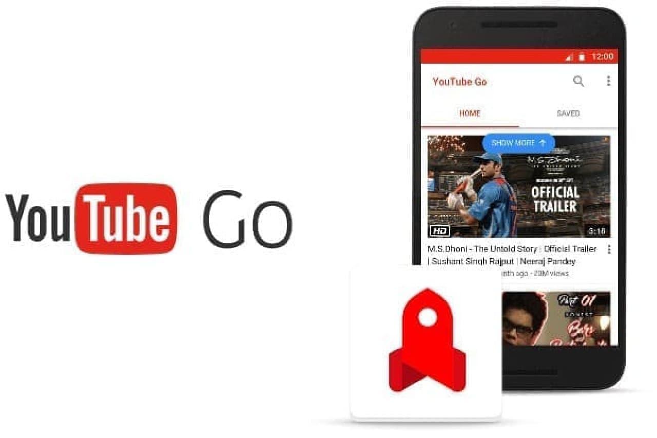YouTube GOのイメージ