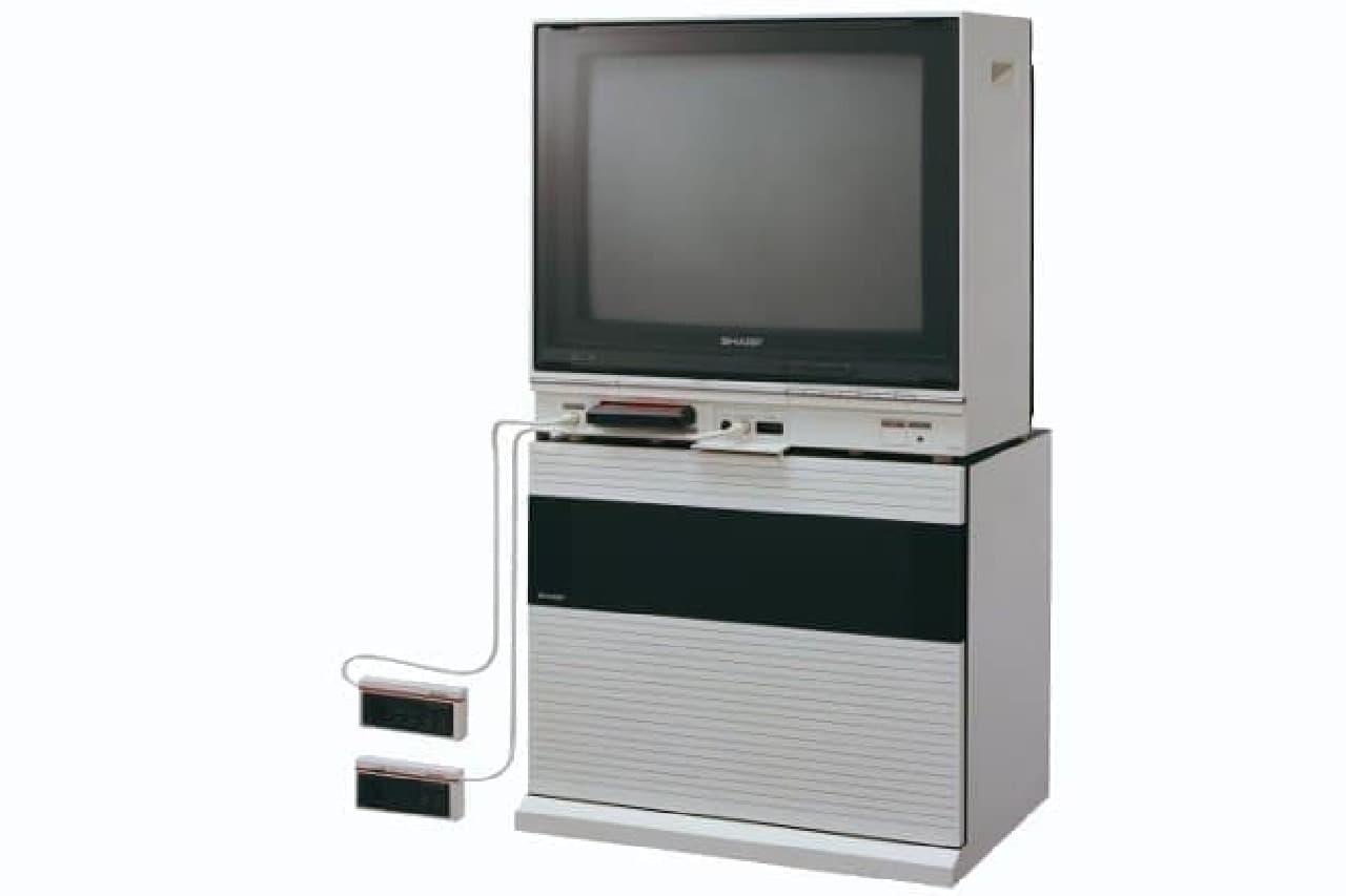 シャープのファミコン内蔵テレビ