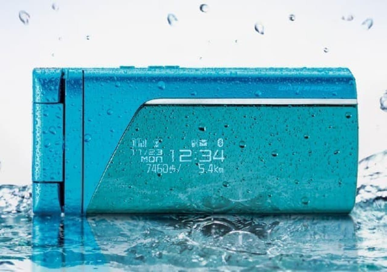 防水機能のイメージ