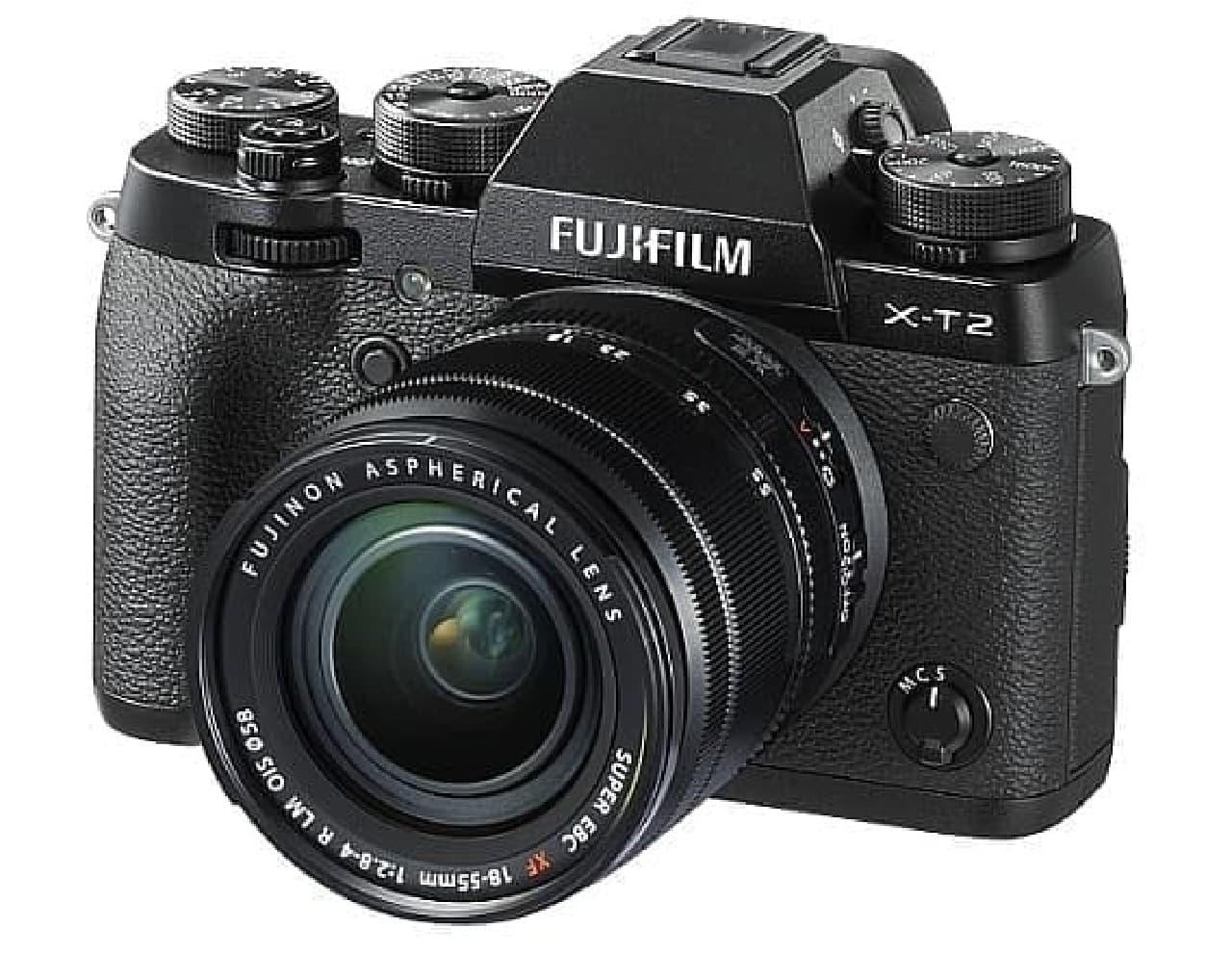 ミラーレスデジタルカメラ「FUJIFILM_X-T21」