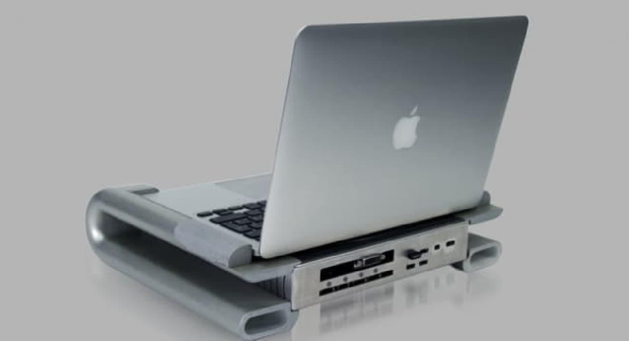 MacBook Proのグラフィック性能を向上させるドッキングステーション「iBow」