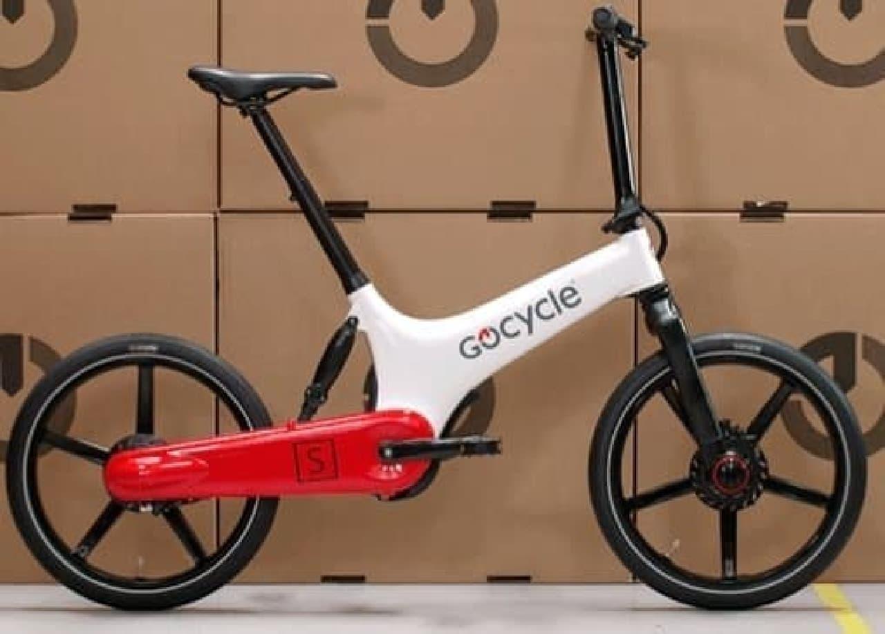 折り畳み式電動アシスト自転車「Gocycle GS」