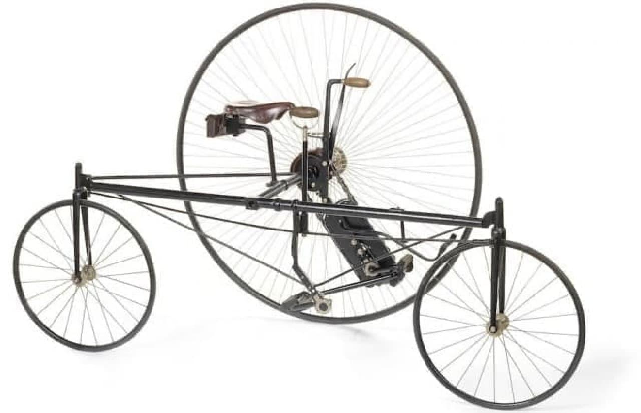 1879年の自転車「Coventry Rotary Tricycle」がオークションに