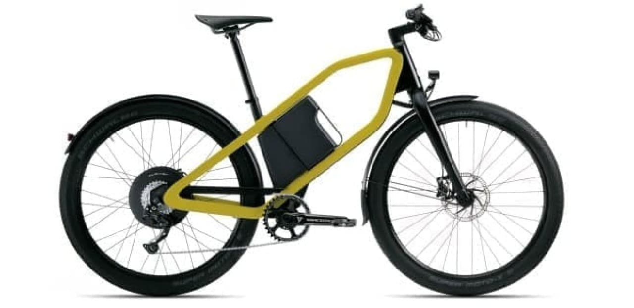 バッテリーをデザインの一部に組み込んだKlever Mobilityの「Klever X」