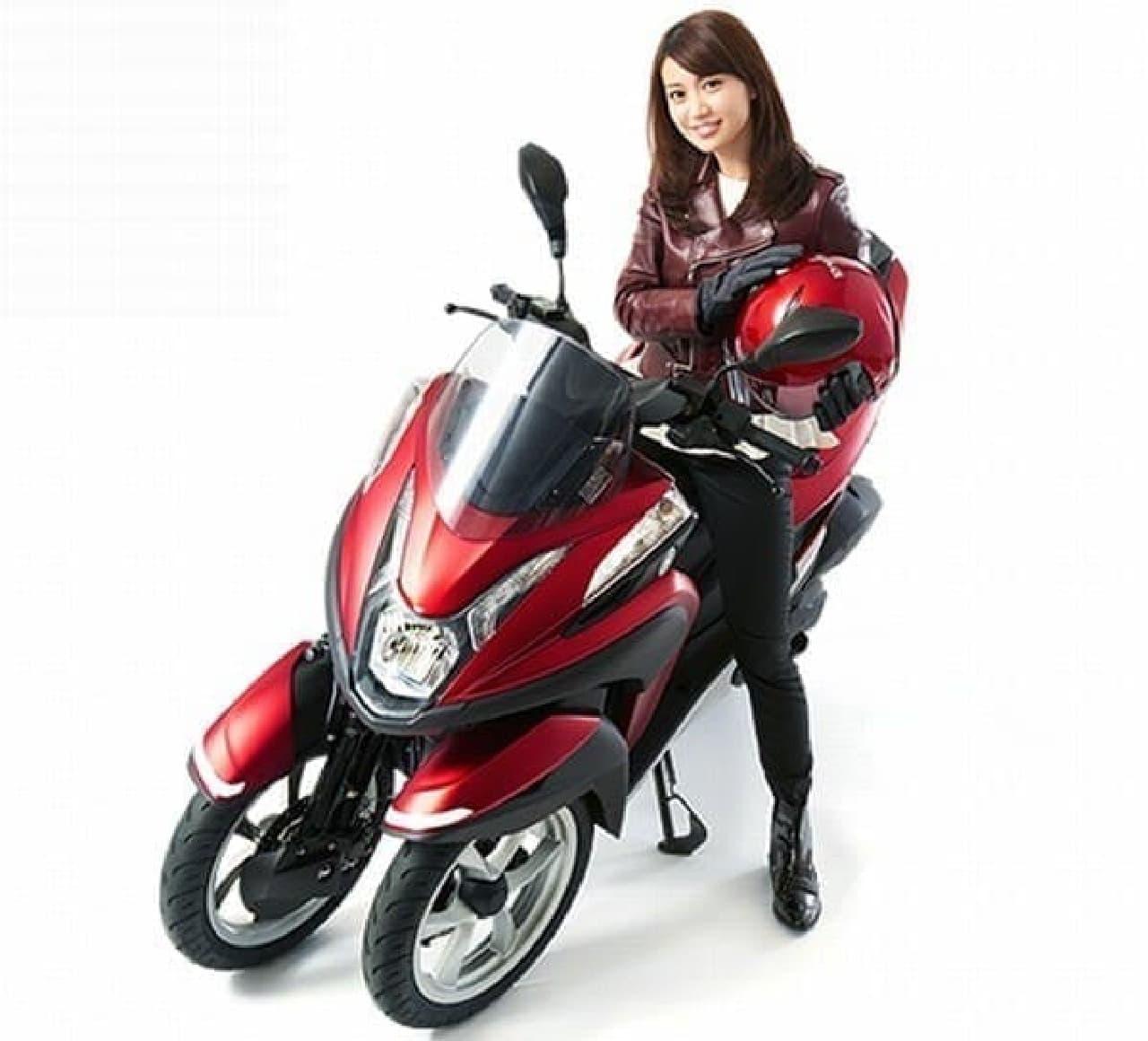 自転車版TRICITY ヤマハ「05GEN」を六本木ヒルズで見られる!…合同デザイン展「Two Yamahas, One Passion~デザイン展2016~」開催