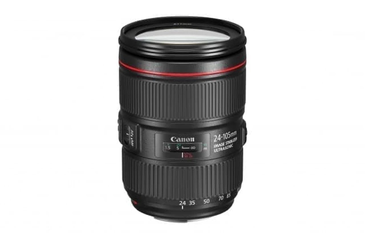 キヤノン「EF24-105mm F4L IS II USM」