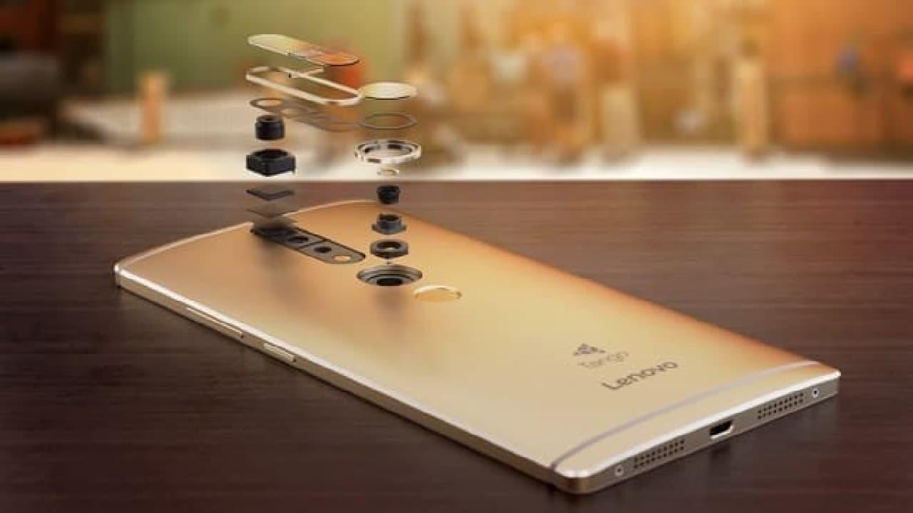 PHAB2 Proのカメラとセンサー類