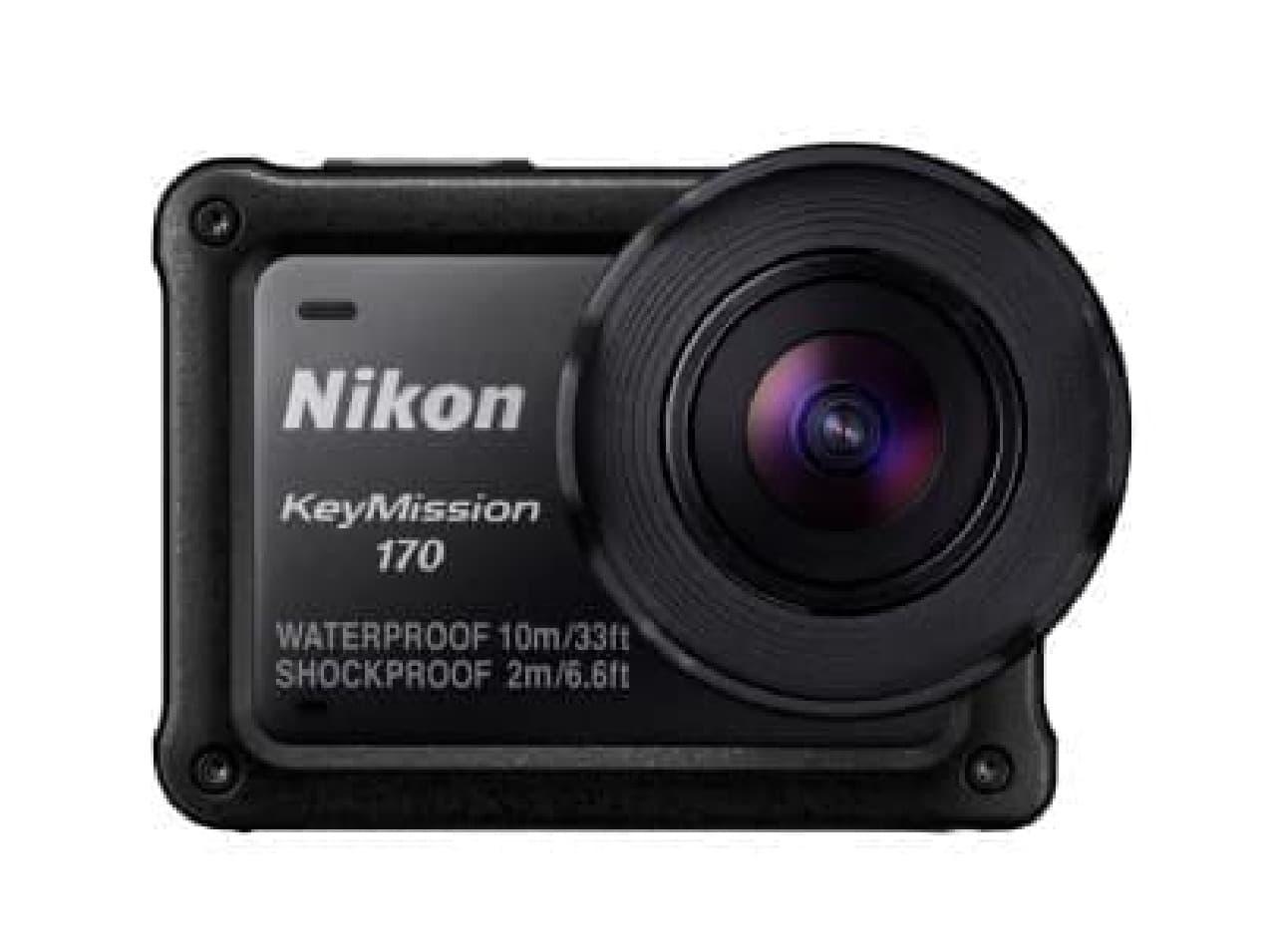 ニコンのアクションカメラ「KeyMission 170」