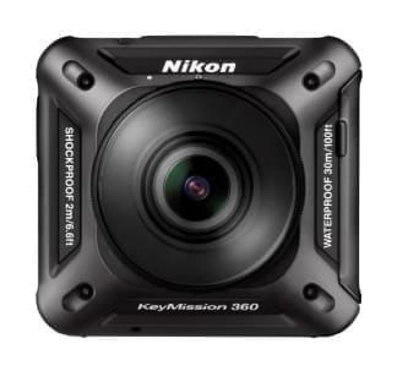 ニコンのアクションカメラ「KeyMission 360」