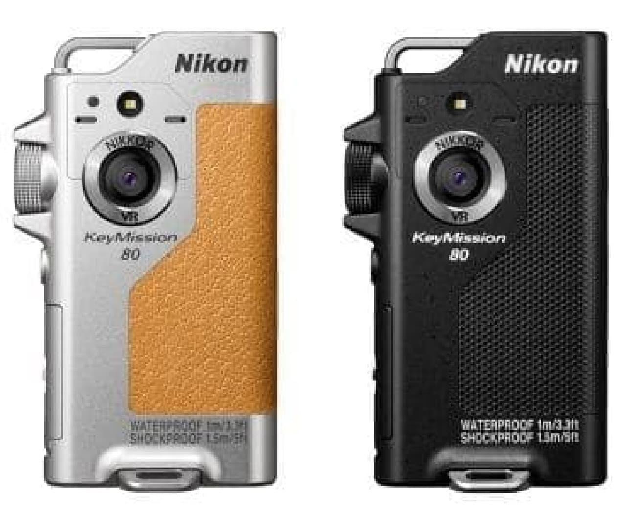 ニコンのアクションカメラ「KeyMission 80」
