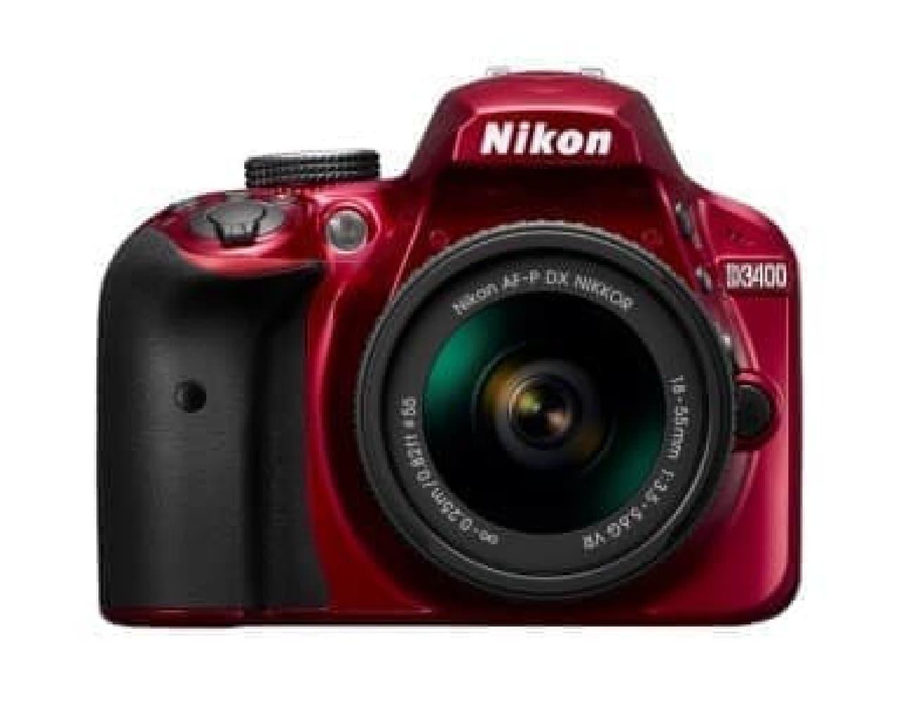 デジタル一眼レフカメラ「ニコン D3400」