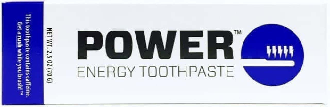 コーヒ90杯分のカフェインが含まれたハミガキ粉「Power Energy Toothpaste」