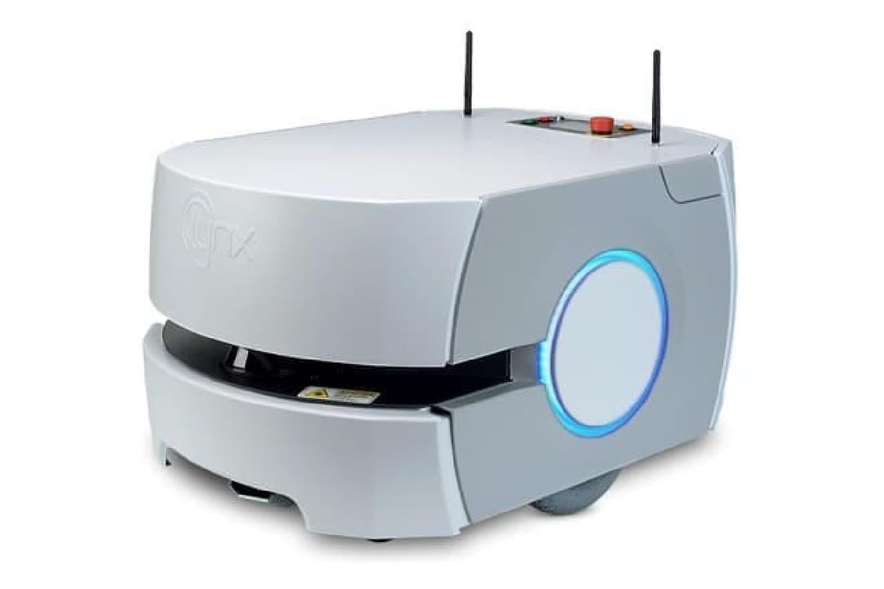 オムロンの荷運びロボット