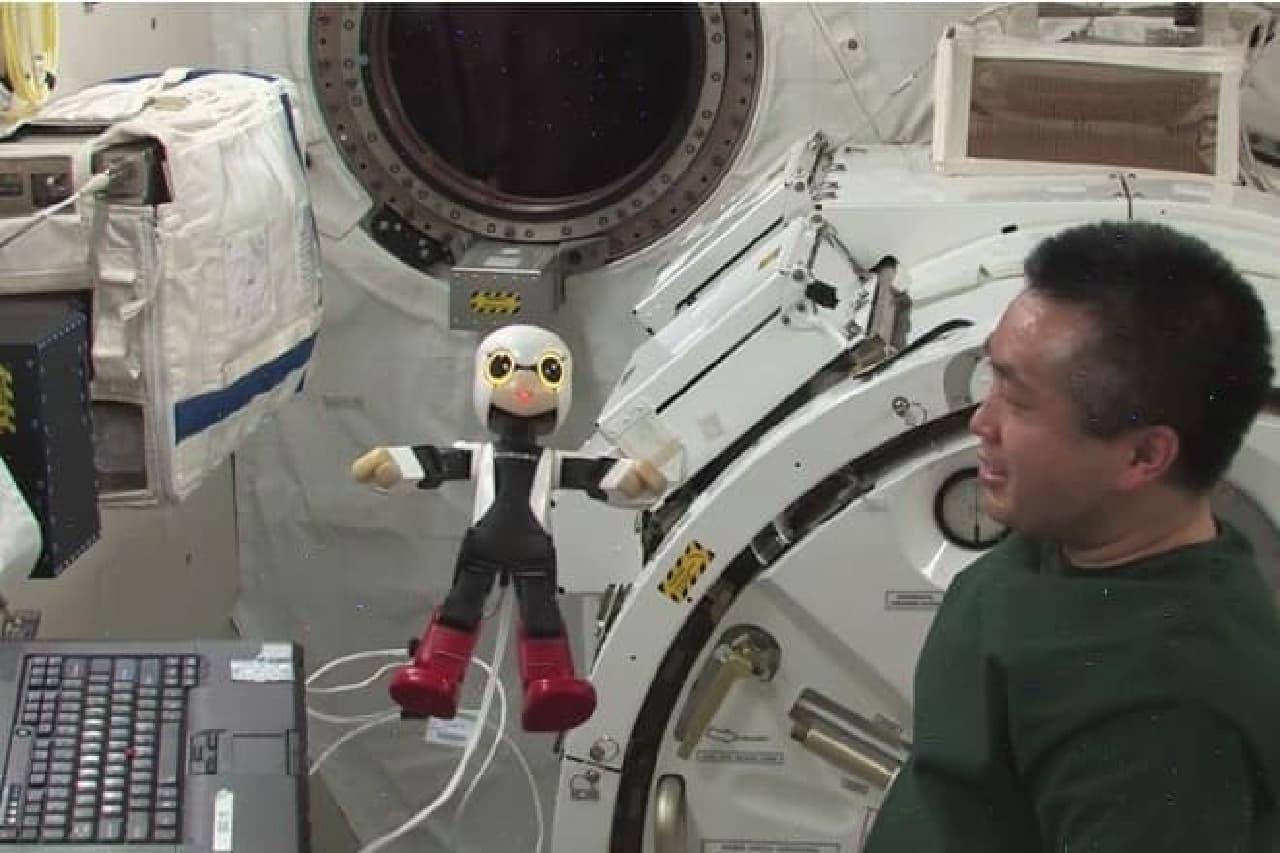 国際宇宙ステーションで活躍したキロボ