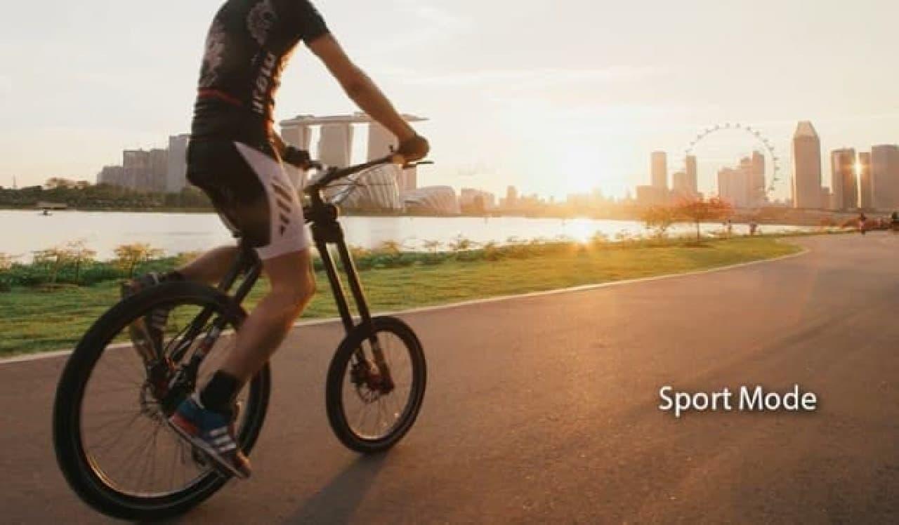 前輪でも後輪でも、好きな方を漕げる自転車「MC2 BIKE」