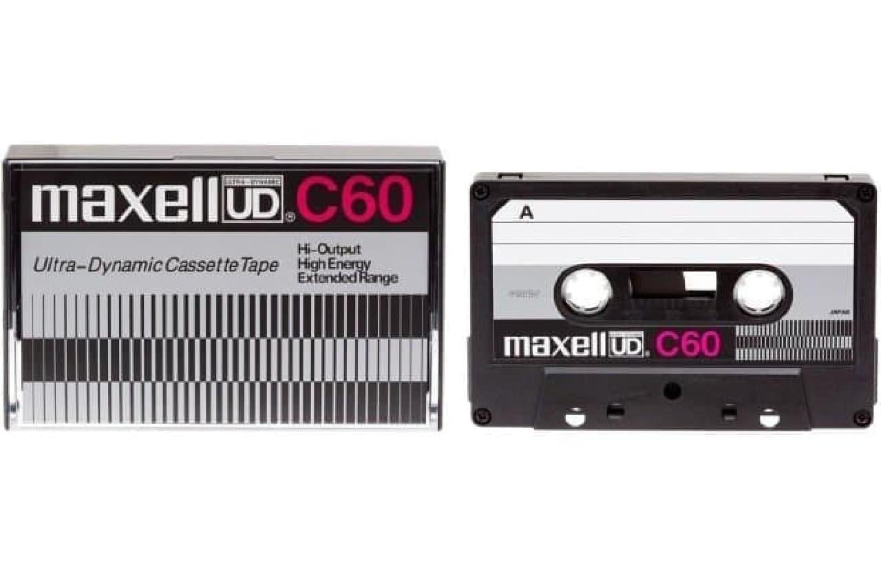 カセットで―プ「UD」デザイン復刻版