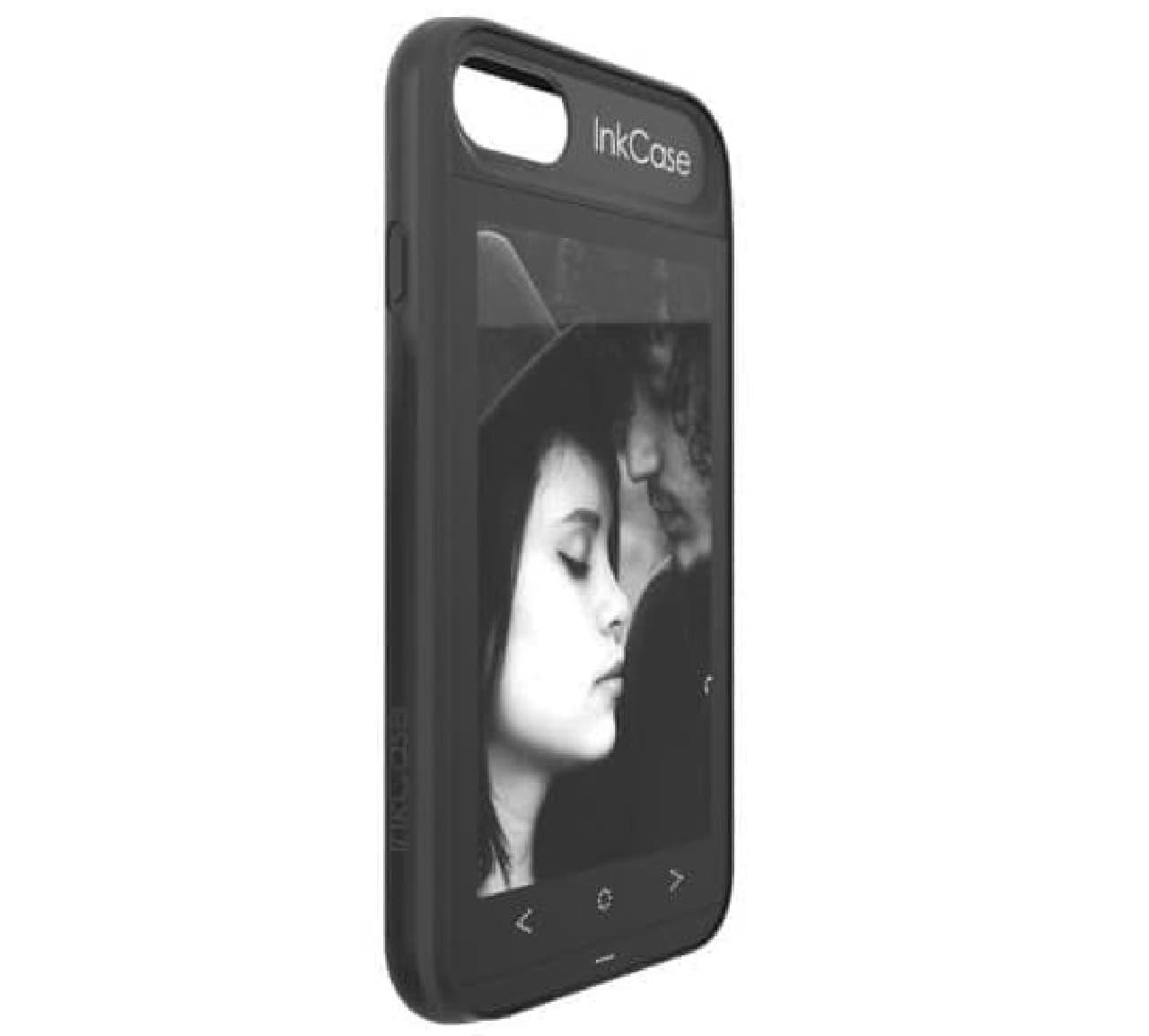 iPhone 7を電子書籍リーダーにするスマホケース「Oaxis InkCase i7」