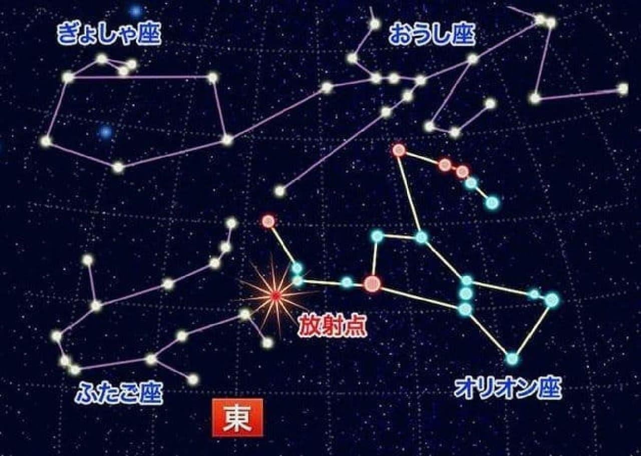 10月21日は「オリオン座流星群」 ― ウェザーニューズが全国の天気傾向を発表