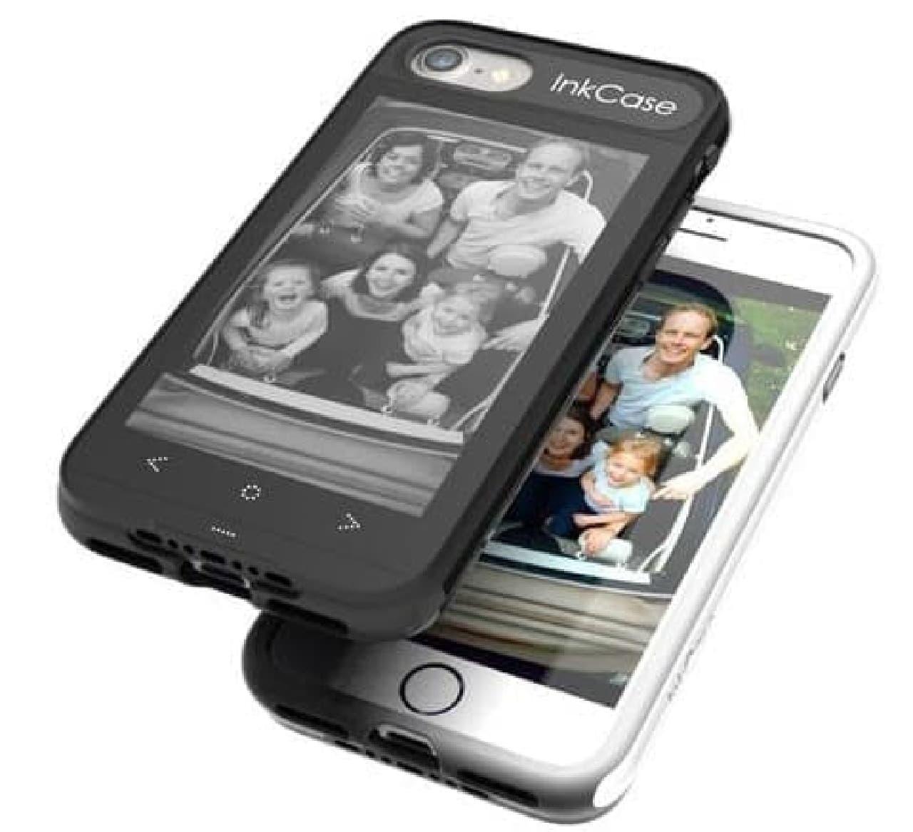 iPhone 7を電子書籍リーダーにするスマホケース「Oaxis InkCase i7」…