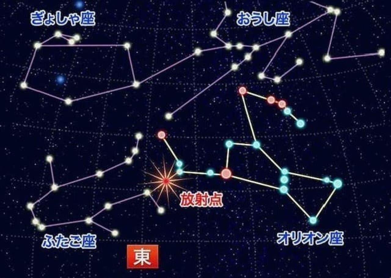 オリオン座流星群、明日(10月21日)観測ピーク!