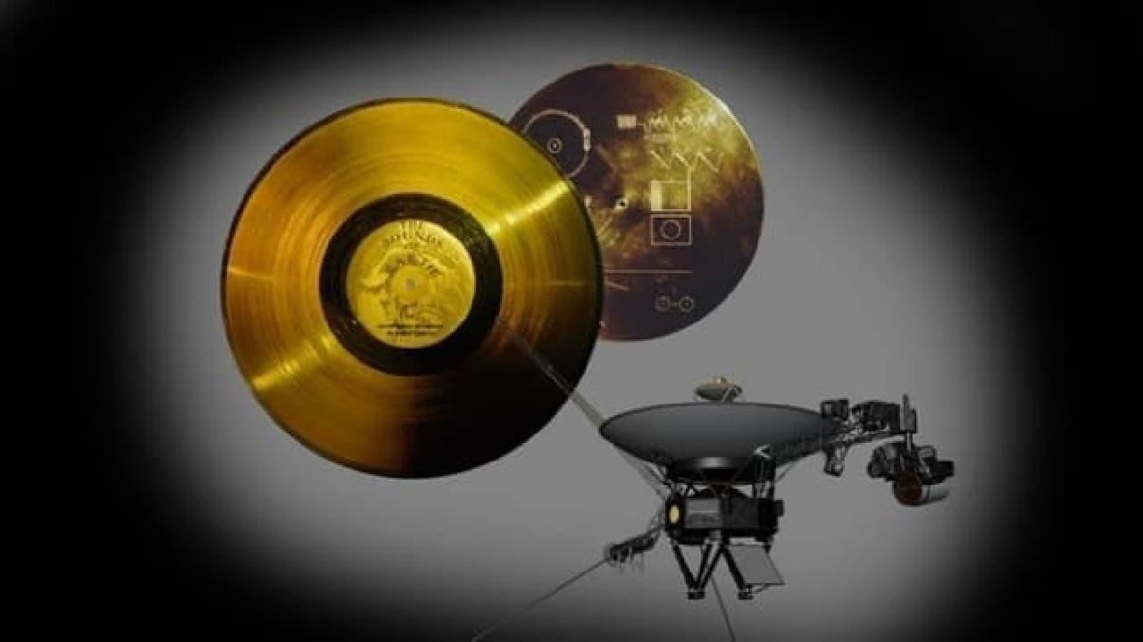宇宙人へのメッセージ「ゴールデンレコード」、ボイジャー探査機打ち上げ40周年を記念して復刻版制作