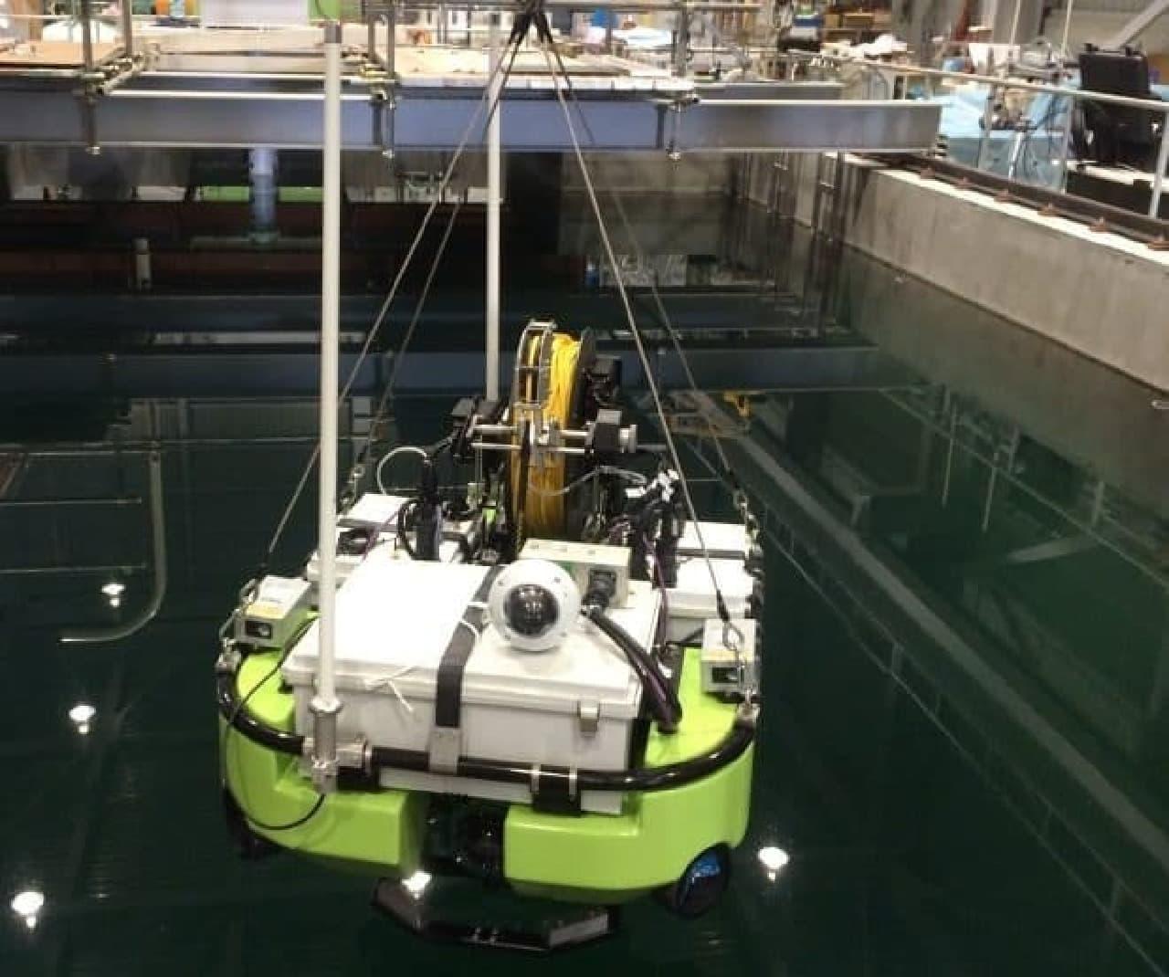 水上ロボットの写真