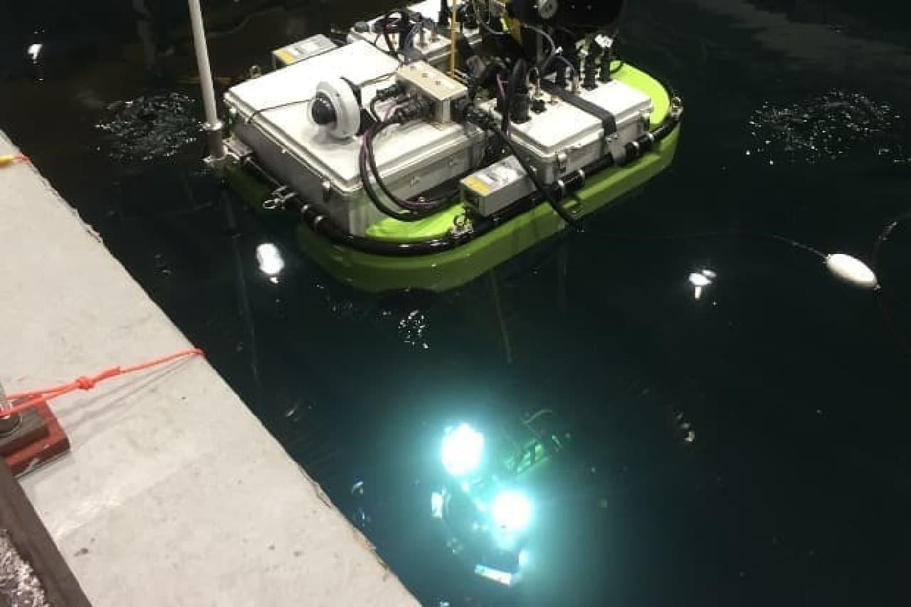 ダム点検ロボット