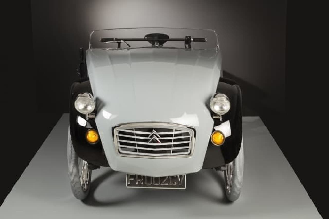 シトロエン2CVが電動アシスト自転車「2CV Paris」に