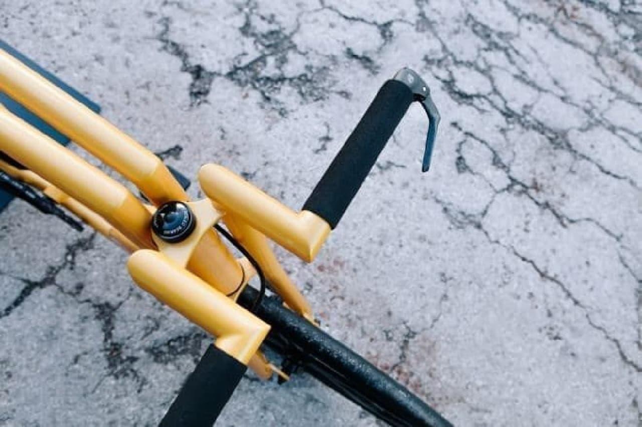ランボルギーニをイメージした自転車「Viks GT」