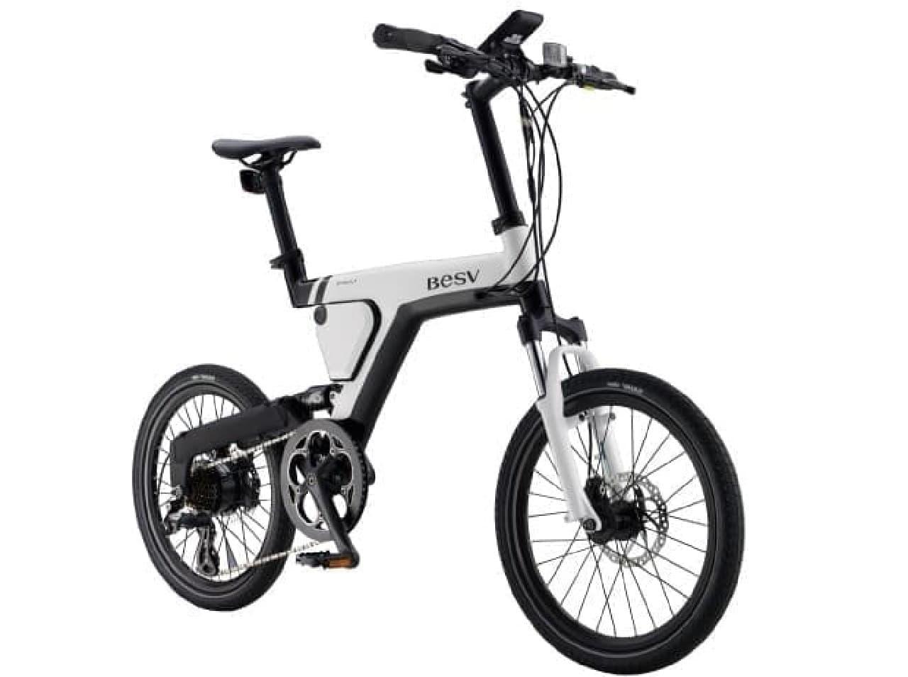 一回の充電で最大90キロ走れる電動アシスト自転車、BESVシリーズの「PSA1」
