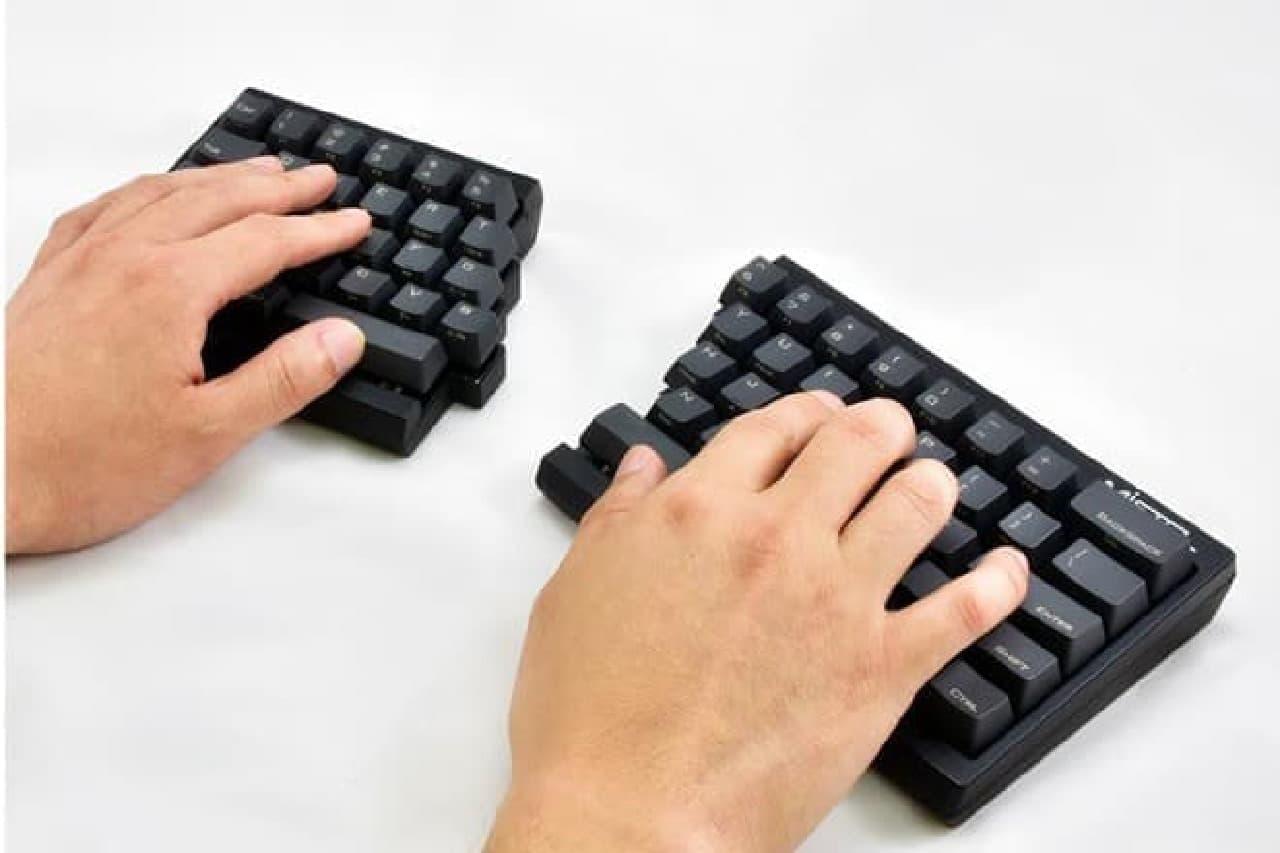 キーボードの操作イメージ