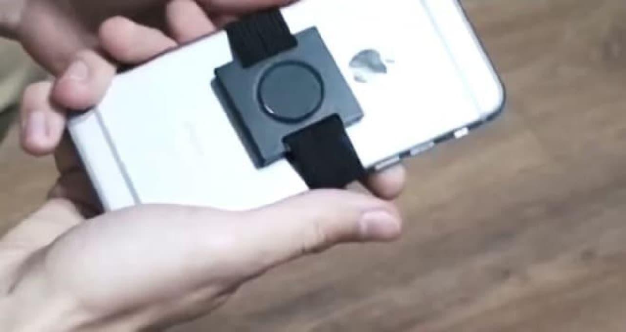 新時代の自撮り器具「Selfie Feet」