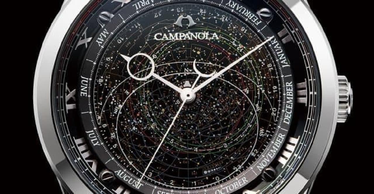 星座盤モデルの写真