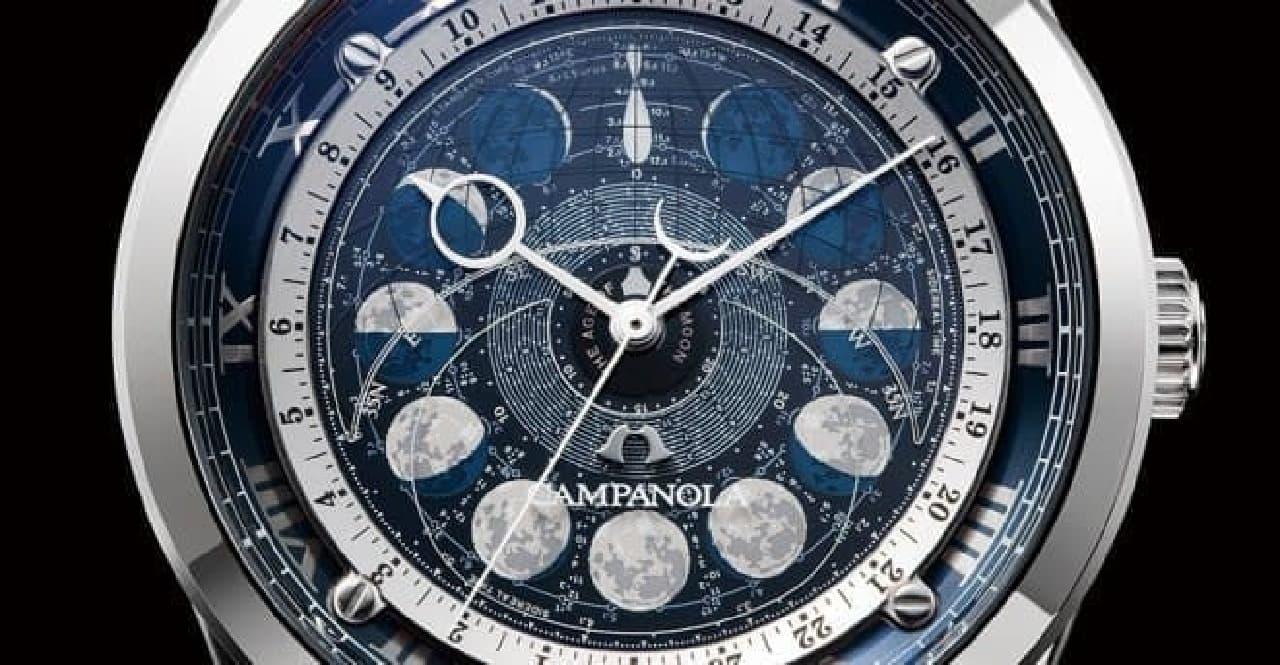 月齢盤モデルの写真