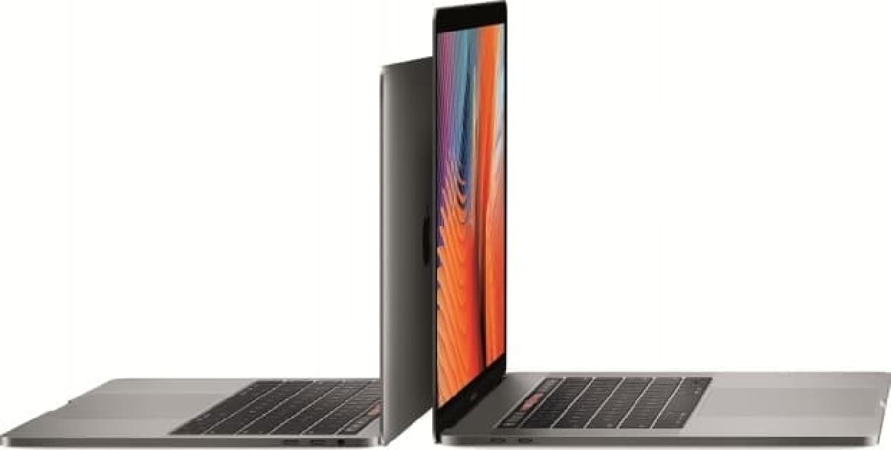 MacBook Proの操作イメージ